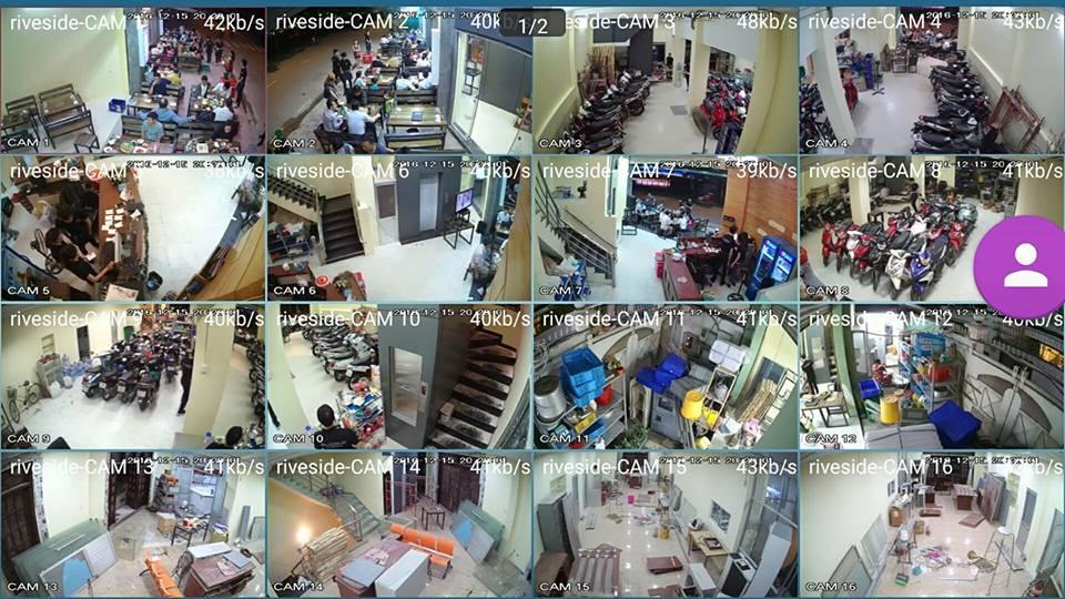 Lắp đặt camera giám sát cho nhà hàng Riverside tại Bình Thạnh