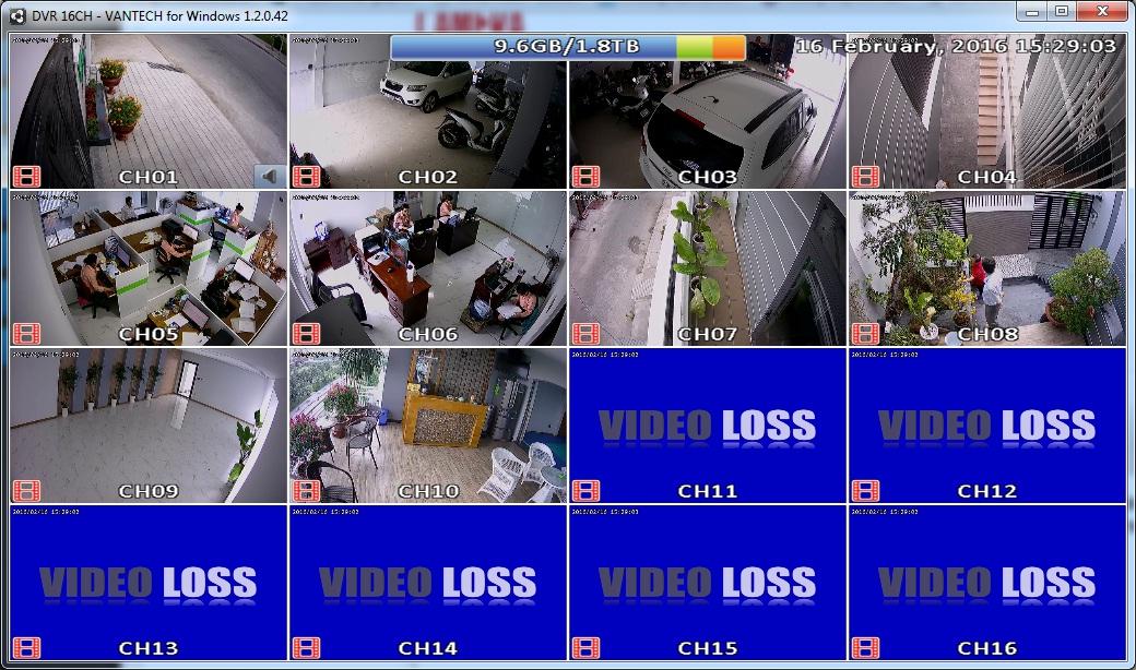 Lắp đặt camera quan sát, lắp báo trộm cho công ty du lịch tại quận 6