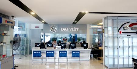Lắp tổng đài nội bộ,  lắp đặt camera, lắp mạng LAN nội bộ SUZUKI Đại Việt tại Quận 2