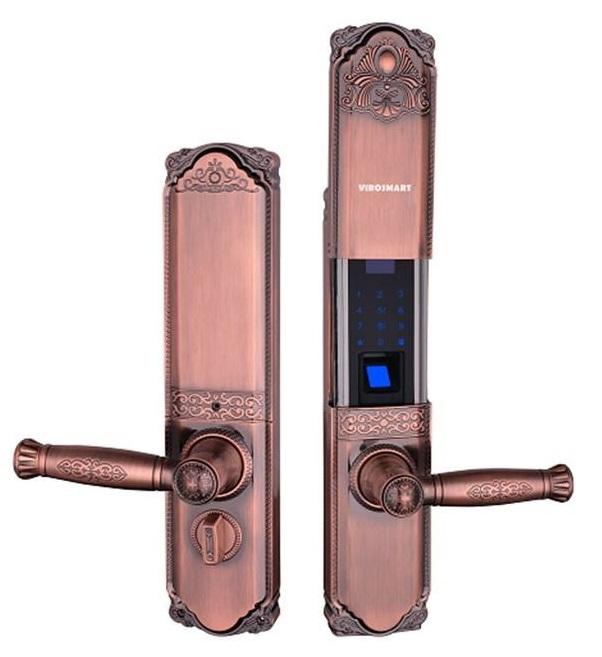 Khóa Cổ Điển VR-HB9003 vân tay, thẻ, mật khẩu, chìa cơ