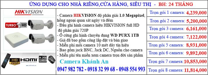 Chi phí đổi ổ cứng camera quan sát