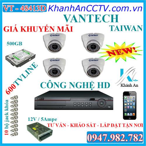 lắp đặt camera quan sát, hệ thống 4 Camera quan sát ốp trần, Lắp đặt hệ thống 4 camera quan sát từ xa qua mạng