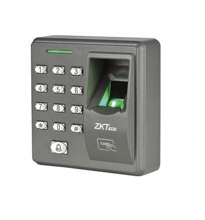 Đầu đọc kiểm soát ra vào dùng vân tay và thẻ Zkteco X7, đại lý, phân phối,mua bán, lắp đặt giá rẻ