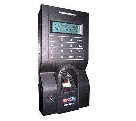 Máy chấm công kiểm soát cửa vân tay, thẻ từ WSE-850A, đại lý, phân phối,mua bán, lắp đặt giá rẻ