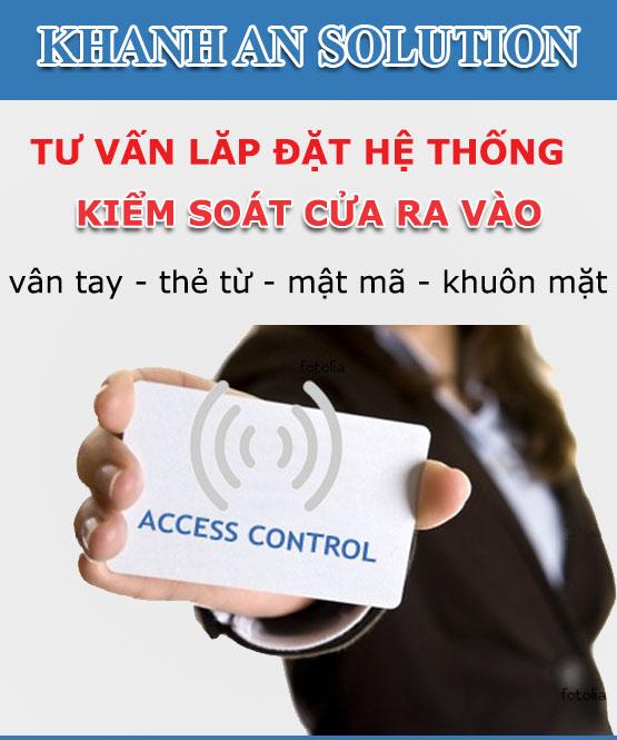 Giải pháp lắp kiểm soát cửa ra vào bằng vân tay phù hợp với bạn