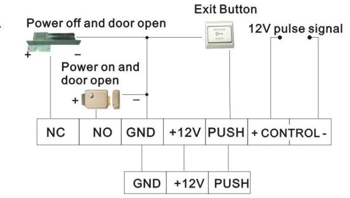 Sơ đồ đấu nối hệ thống kiểm soát cửa ra vào
