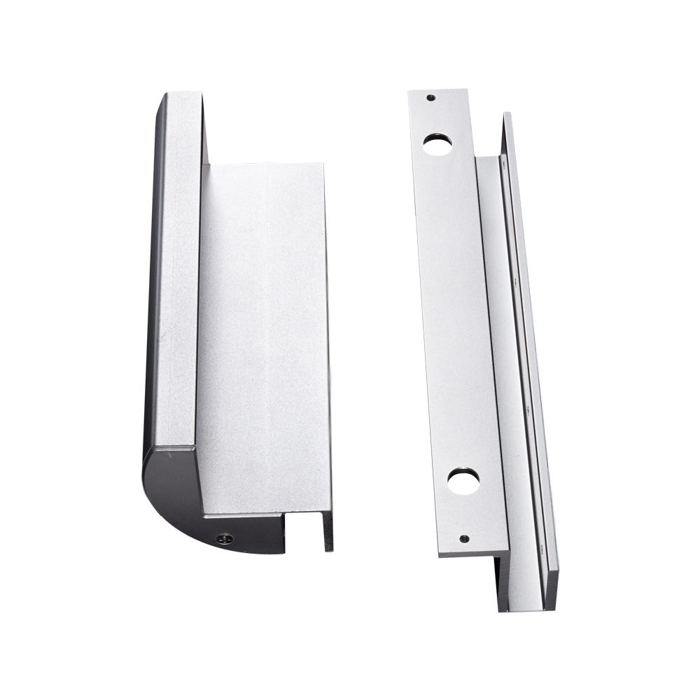 Bộ bát gá khóa hít nam châm điện từ MBK-280GZ (lắp cửa kính), đại lý, phân phối,mua bán, lắp đặt giá rẻ