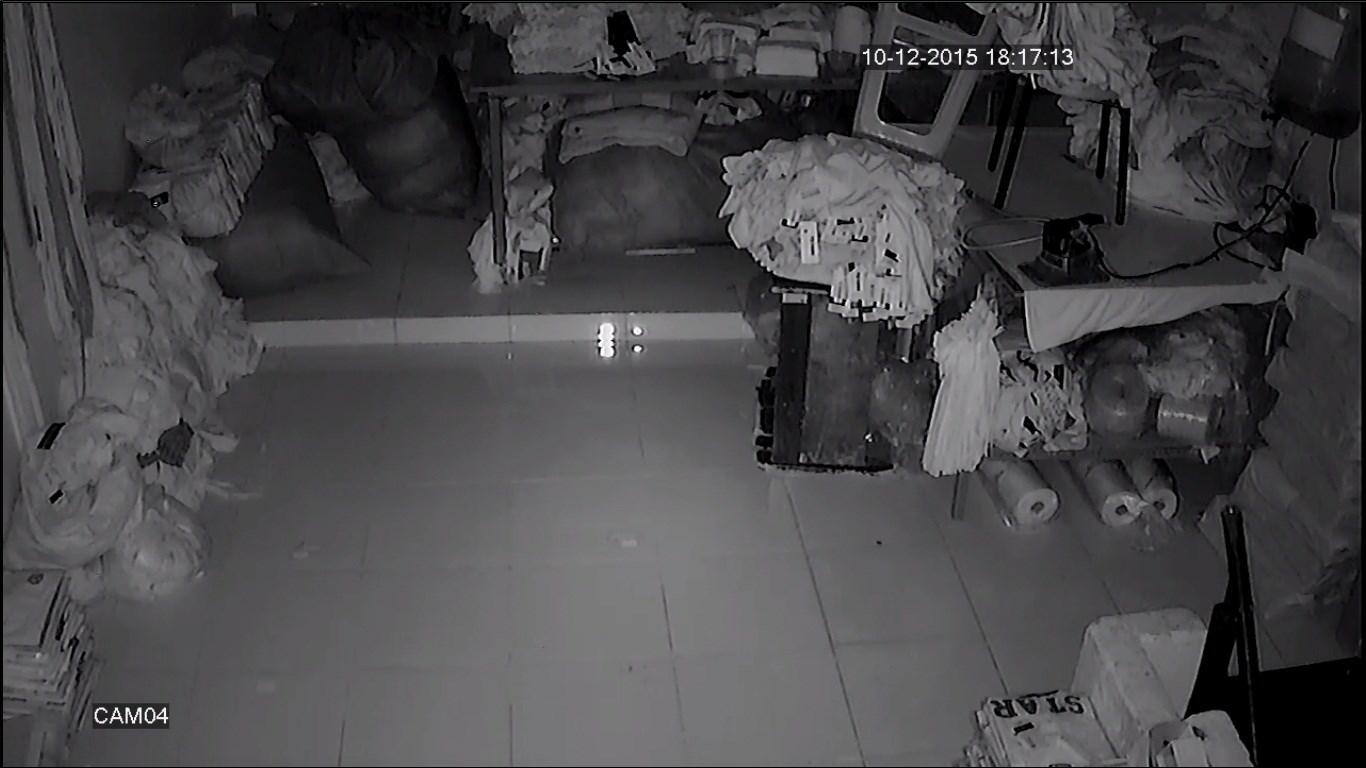 Hình ảnh lắp đặt camera xem ban đêm hồng ngoại