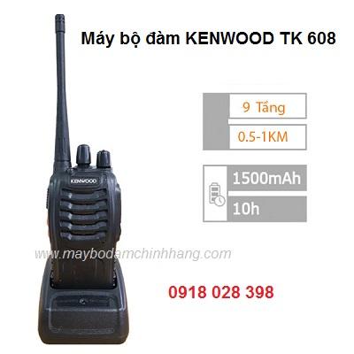 Máy bộ đàm KENWOOD TK 608, đại lý, phân phối,mua bán, lắp đặt giá rẻ