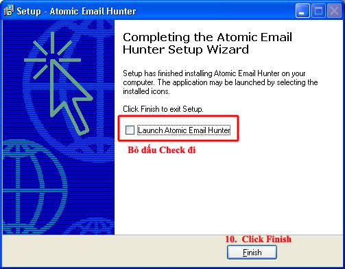 Phần mềm trích xuất email từ website