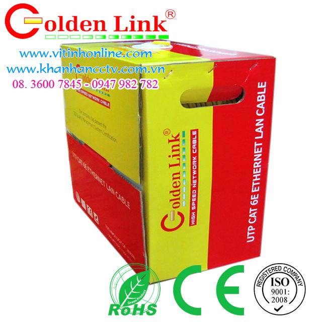 Dây cáp mạng Golden Link UTP CAT6 Vàng 3