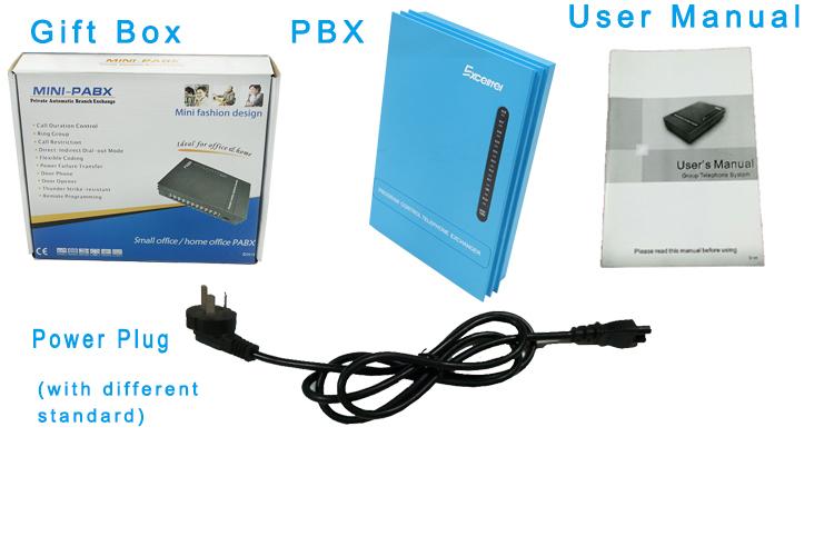 Tổng đài điện thoại Pabx MS108, tổng đài giá rẻ